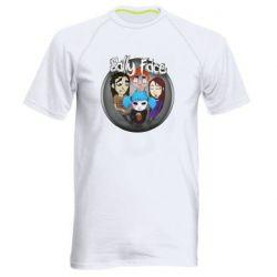 Мужская спортивная футболка Sally face soundtrack