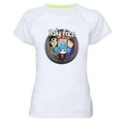 Женская спортивная футболка Sally face soundtrack