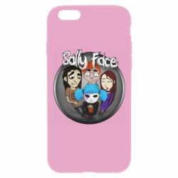 Чехол для iPhone 6 Plus/6S Plus Sally face soundtrack