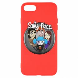 Чехол для iPhone 7 Sally face soundtrack