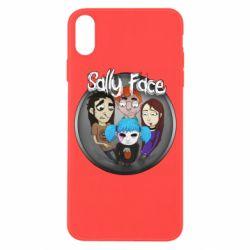 Чехол для iPhone X/Xs Sally face soundtrack