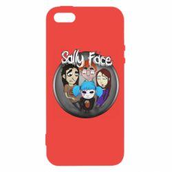 Чехол для iPhone5/5S/SE Sally face soundtrack