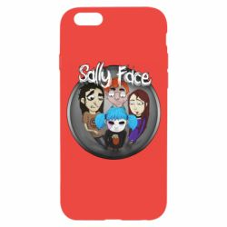 Чехол для iPhone 6/6S Sally face soundtrack