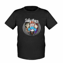 Детская футболка Sally face soundtrack