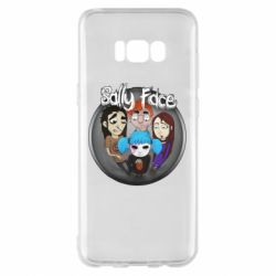 Чехол для Samsung S8+ Sally face soundtrack