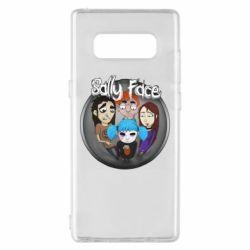 Чехол для Samsung Note 8 Sally face soundtrack