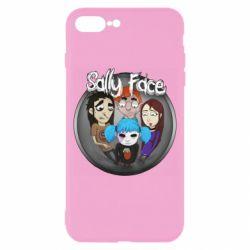 Чехол для iPhone 8 Plus Sally face soundtrack