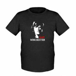 Детская футболка Sam Winchester - FatLine