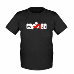 Детская футболка Самбо - FatLine