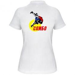 Женская футболка поло Sambo