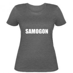 Женская футболка Samogon 1
