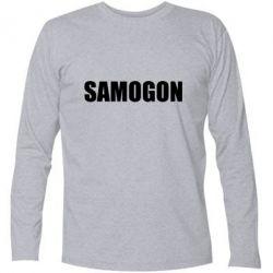 Купить Футболка с длинным рукавом Samogon 1, FatLine