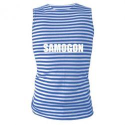 Купить Майка-тельняшка Samogon 1, FatLine