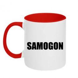 Кружка двухцветная Samogon 1