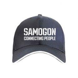Кепка Samogon connecting people