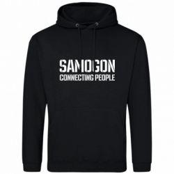 Чоловіча толстовка Samogon connecting people