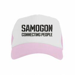 Дитяча кепка-тракер Samogon connecting people