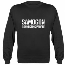 Реглан (світшот) Samogon connecting people