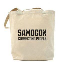 Сумка Samogon connecting people