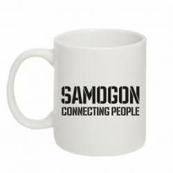 Кружка 320ml Samogon connecting people