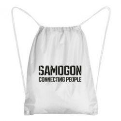 Рюкзак-мішок Samogon connecting people