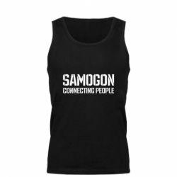 Майка чоловіча Samogon connecting people