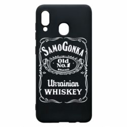 Чохол для Samsung A30 SamoGonka (Jack daniel's)