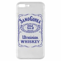 Чехол для iPhone 8 Plus SamoGonka (Jack Daniel's) - FatLine