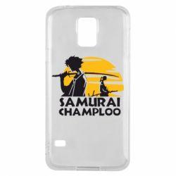 Чохол для Samsung S5 Samurai Champloo