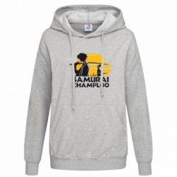 Женская толстовка Samurai Champloo - FatLine