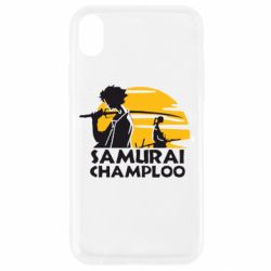 Чехол для iPhone XR Samurai Champloo