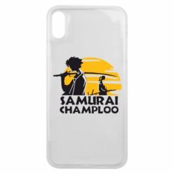 Чехол для iPhone Xs Max Samurai Champloo
