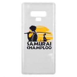 Чохол для Samsung Note 9 Samurai Champloo