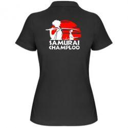 Женская футболка поло Samurai Champloo - FatLine