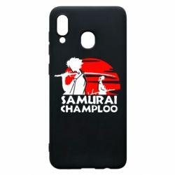Чохол для Samsung A20 Samurai Champloo