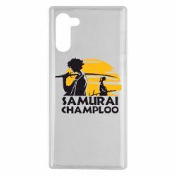 Чохол для Samsung Note 10 Samurai Champloo