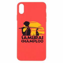 Чохол для iPhone X/Xs Samurai Champloo