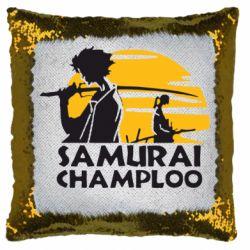 Подушка-хамелеон Samurai Champloo