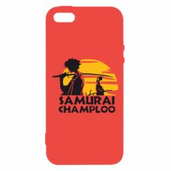 Чехол для iPhone5/5S/SE Samurai Champloo
