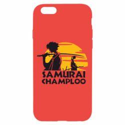 Чохол для iPhone 6/6S Samurai Champloo