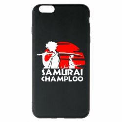Чехол для iPhone 6 Plus/6S Plus Samurai Champloo
