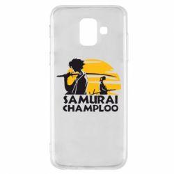 Чохол для Samsung A6 2018 Samurai Champloo