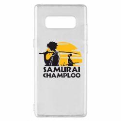 Чохол для Samsung Note 8 Samurai Champloo