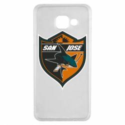 Чохол для Samsung A3 2016 San Jose Sharks