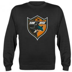 Реглан (свитшот) San Jose Sharks - FatLine