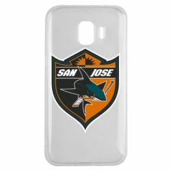 Чохол для Samsung J2 2018 San Jose Sharks