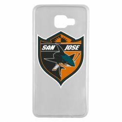 Чохол для Samsung A7 2016 San Jose Sharks