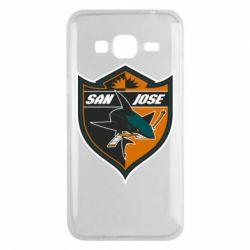 Чохол для Samsung J3 2016 San Jose Sharks