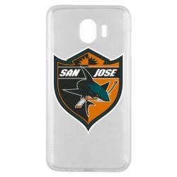 Чохол для Samsung J4 San Jose Sharks