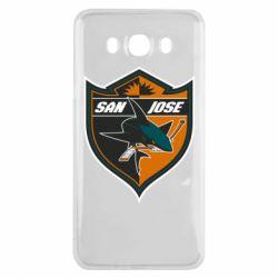 Чохол для Samsung J7 2016 San Jose Sharks